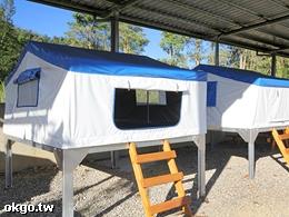 埔里桃米左岸愛玩客營地-營地挑高帳篷