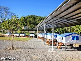 埔里桃米左岸愛玩客營地-營地景觀