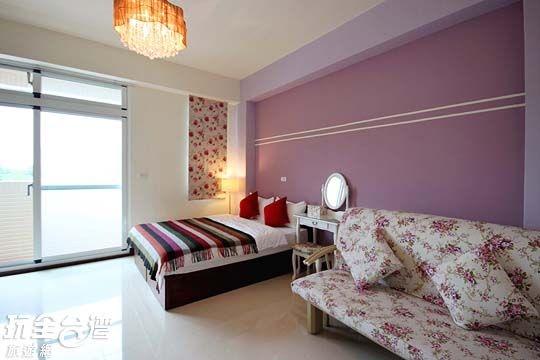 紫色浪漫雙人套房