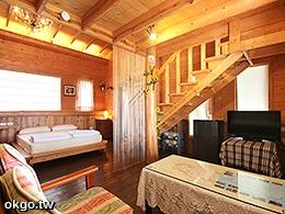 田園屋-樓中樓小木屋