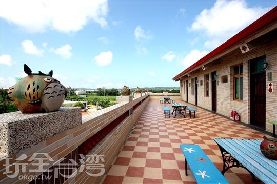 寶島窯民宿-露天陽台