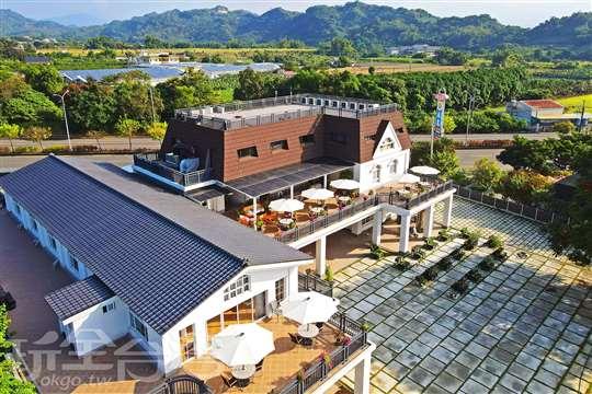 瓦樣山巷·台南玉井農莊 異國蔬食料理餐廳