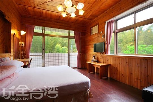 所有客房均有景觀窗或陽台