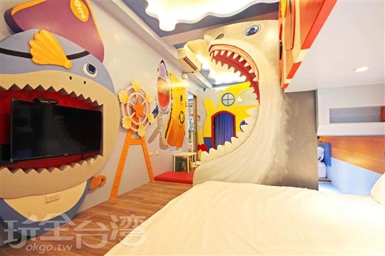 台南親子民宿‧Fun電旅店