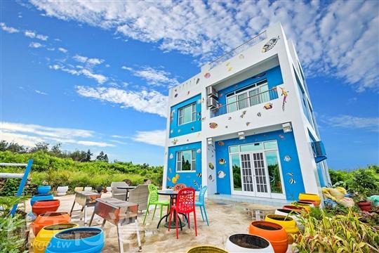 澎湖彩色漁の居民宿