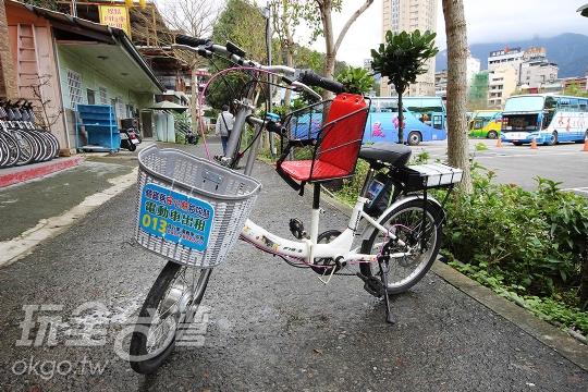 親子電動自行車(日月潭自行車出租-安心騎)
